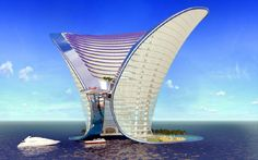 Apeiron Hotel  De la ciudad: Dubai, Emirates Para su construcción: 2014; Design: Sybarite Architects; Costo: $350 million