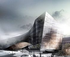 snohetta wins competition to design le monde headquarters in paris - designboom | architecture