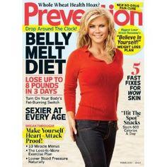 Prevention Magazine Subscription : $6.99 (reg. $16.94)  http://www.mybargainbuddy.com/4yrs-of-prevention-magazine-15-96