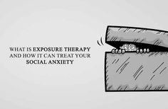 Exposure therapy is the practice of conquering social anxiety by confronting your fears. Is it time to start breaking down walls in your life? Exposure Therapy, Anxiety Treatment, Social Anxiety, Treat Yourself, Relationship Tips, My Heart, Depression, Medical, Treats