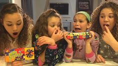 Hi Guys! This week we decided to try the Bean Boozled Challenge! This one was a lot of fun but some of them were SO GROSS! Hashtag Sisters, Black Jordans, Beans, Challenges, Guys, Youtube, Hashtags, Scarlet, Hacks