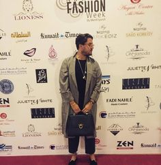 @marcoferrastylist 3rd day of #kuwaitfashionweek #kuwait #fashionweek red carpet wearing the amazing bag from @magriofficial, #necklace @chantecler_official and #diamond #bracelet @walters_faith !! #magrì_handbags #WorldTraveler #bag #CraftedinFlorence #ItalianStyle #ItalianGlamour #ItalianCraftmanship #Sophisticated #magrigentlemansclub #magriofficial #magripeople #people #etabetapr @magriofficial www.magri.co