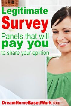 Earn Money From Home - Big List of 22 Real Online Survey Companies that Actually Pays Cash - You may have signed up to take paid surveys in the past and didn't make any money because you didn't know the correct way to get started! Online Survey Sites, Survey Companies, Survey Sites That Pay, Online Jobs, Make Money Taking Surveys, Ways To Earn Money, Earn Money From Home, How To Get Money, Earning Money