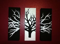 Artwork Ideas canvas tree art | painted canvas, canvases and walls