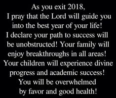#Prayer #MondayMotivation #leaving2018 #lastdayoftheyear2018 #lastdayoftheyear #newyearseve #newyearseve2018 #happynewyearseve2018 #happynewyearseve #goodmorning #leavingbehind2018 #exit2018 #pray #family #friend #friends #familyandfriends #families #bestyearofyourlife #bestyear New Years Eve 2018, Happy New Years Eve, Last Day Of The Year, Academic Success, Inspiration Quotes, Your Family, Monday Motivation, Caption, Good Morning