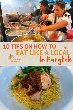 Bangkok took us by surprise. We found the Bangkok food scene to be quite overwhelming at first.  After spending one month in the city navigating the food scene, we have put together 10 tips to help you eat amazing authentic food in Bangkok. This guide is perfect for first-time visitors to Bangkok, or those looking to branch out and eat like a local.
