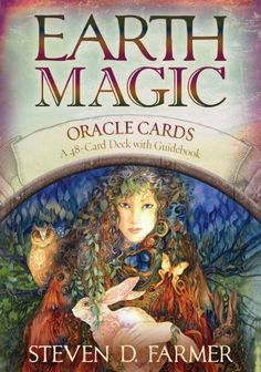 Earth Magic Oracle Cards: A 48-Card Deck and Guidebook by Dr. Steven D. Farmer, http://www.amazon.com/dp/1401925359/ref=cm_sw_r_pi_dp_PUJsqb11QB6CK