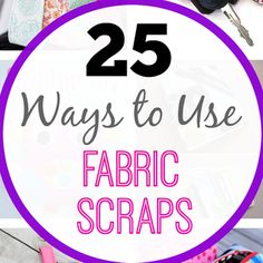 Tweet Pin It If you're like me you probably have a lot of little fabric scraps of various sizes left over from previous sewing projects. They pile up in your closet or craft room and you love them but you aren't quite sure what to do with them. I've got a few project ideas for...Read More »