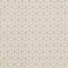Schumacher - TUMBLING BLOCKS - Miles Redd fabric