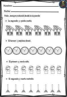 Actividades para trabajar los números ordinales