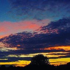 Colorful Sunset Germany, Bielefeld photo from me ! look insta 1977sascha