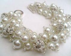 Bridesmaid Jewelry Bridesmaid Bracelet Vintage Theme Nude