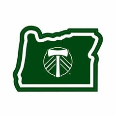 Portland Timbers In Oregon Sticker - Green