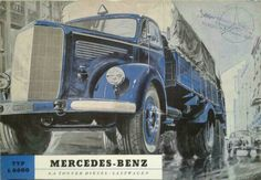 Mercedes Benz L 6600 1952 brochure