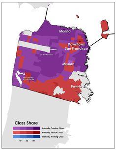 Class-Divided Cities: San Francisco Edition - Richard Florida and Sara Johnson - The Atlantic Cities