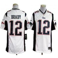 Brady White Man Stitched Game Jersey Patriots Qb 8ddbf4369