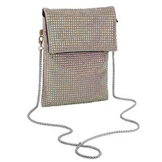 JESSIE NUDE 2 STRAP CROSS BODY PURSE WITH *FREE MATCHING DESTINY MASK – Natalie Mills Smart Phones, Sparkles Glitter, Austrian Crystal, Pearl White, Jessie, Destiny, Cross Body, Crossbody Bag, Abs