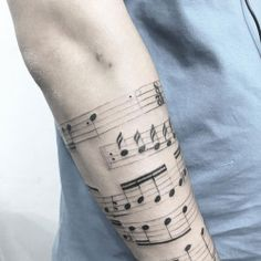 TATTOOS.ORG — Music Notes Tattoo  by Sabrina Conde Tattoo Artist...