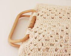 Crochet bag is easy peasy!