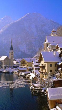Hallstatt, Upper Austria, is a village in the Salzkammergut, a region in Austria. It is located near the Hallstätter See (a lake). At the 2001 census, it had 946 inhabitants.