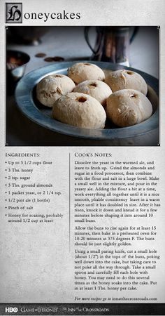 christmas dessert recipes, of july desserts recipes, easy dessert recipes with pictures - So I went a step further, and filled them with honey. More recipes: Easy Desserts, Dessert Recipes, Dinner Recipes, Viking Food, Comida Disney, Medieval Recipes, Ancient Recipes, Best Christmas Desserts, Good Food