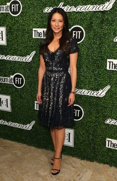 Lucy Liu attends the 2014 Couture Council Award Luncheon Benefit for the Museum at FIT honoring Carolina Herrera at the David H. Koch Theater at Lincoln Center on September 3, 2014 in New York City