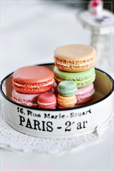 I miss Paris! And lining up outside the door of the cafe named Paul just to get giant ones for 2 euros!