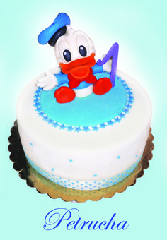 baby duck tales cake