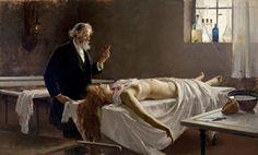 Autopsia, Enrique Simonet, 1890.