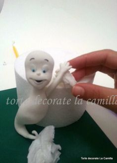 Casper tutorial by Torte decorate La Camilla