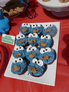 HappilyDomestic- Sesame Street Birthday Party Ideas