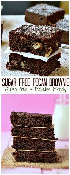 The BEST diabetes friendly treat & Healthiest brownie on earth! This Sugar…