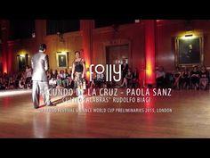 UK Tango Festival 2015 - Facundo de la Cruz y Paola Sanz - 2 - YouTube