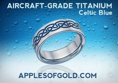 Aircraft Grade Titanium Wedding Bands for Love that Stands Strong Titanium Jewelry, Stand Strong, Celtic, Wedding Bands, Aircraft, Pendants, Love, Rings, Metal