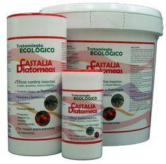 Tierra diatomeas Castalia 20 kg, CONTROL DE PLAGAS