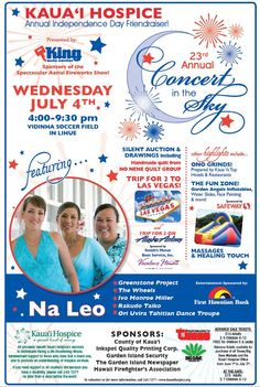kauai hospice 4th july