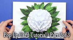 Image result for flower pop up card