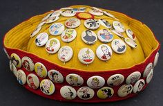 Kelloggs Pep Cereal Pinback Comic Characters Buttons Complete Set 1940's