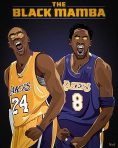 Kobe Bryant no. 8 and 24