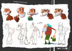 ✤ || CHARACTER DESIGN REFERENCES | キャラクターデザイン • Find more at https://www.facebook.com/CharacterDesignReferences if you're looking for: #lineart #art #character #design #illustration #expressions #best #animation #drawing #archive #library #reference #anatomy #traditional #sketch #development #artist #pose #settei #gestures #how #to #tutorial #comics #conceptart #modelsheet #cartoon #old #man #elder #senior || ✤