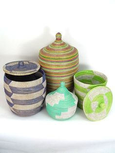 Mbare is offering a 15% discount on all our beautiful hand woven baskets including the baskets of the Tavie Cooperative and the Binga and Senegal Baskets.