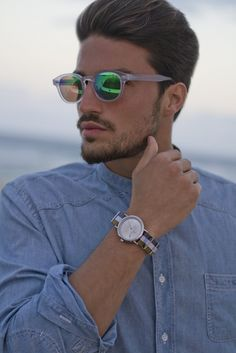 love glasses and watch