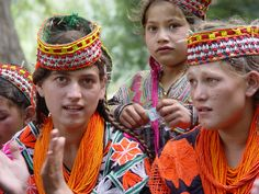 Kalash Tribe of the Hindukush