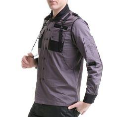 Camisa Gris para Hombre