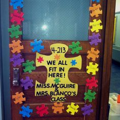 Cool first day decoration idea. Could lead to some good discussions to start the year off right!