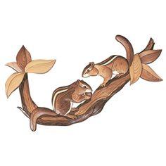 I-124 Chipmunks Intarsia Woodworking Pattern Woodworking For Kids, Woodworking Logo, Woodworking Patterns, Easy Woodworking Projects, Popular Woodworking, Woodworking Techniques, Woodworking Furniture, Woodworking Plans, Workbench Plans