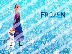 Disney Frozen Edible Cake Topper Frosting 1/4 Sheet Image #20