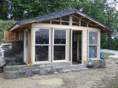Build an off the grid house