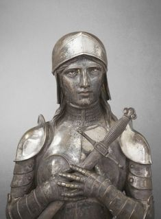 forstfre:  Bronze bust of Joan of ArcHenri GIRAUD