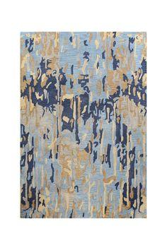 Studio Wool Rug - Blue | HauteLook